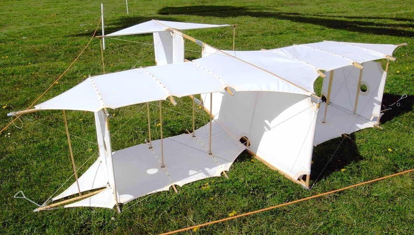 Staalkabel vlieger
