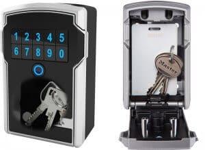 bluetooth, kluisje, sleutelkluis,