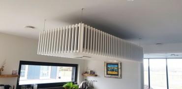 afzuiging ophangen boven kookeiland